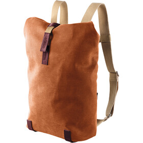 Brooks Pickwick Canvas Selkäreppu Pieni 12l, goose beak/maroon